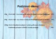 Podzímní menu