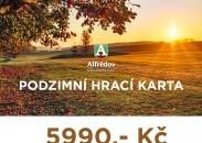 AKCE -PODZIMNÍ HRACÍ KARTA 2021